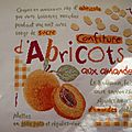Lili points confiture d'abricots fini !