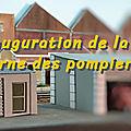 Inauguration de la nouvelle caserne de pompiers