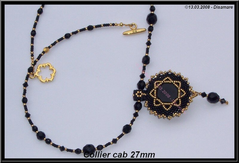 Collier Cab 27mm