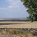 bulgarie - saignée de terre noir charbon
