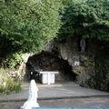 Reconstitution de la grotte de Massabielle