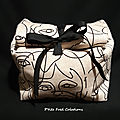 Lunch bag façon sac en papier
