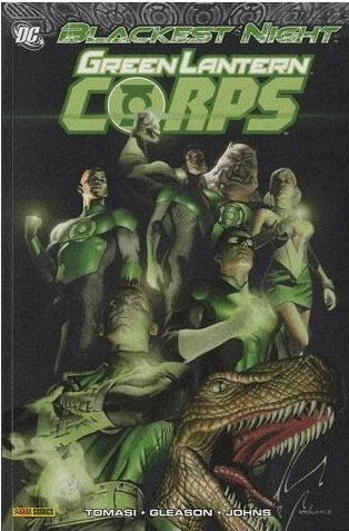 panini big book green lantern corps blackest night