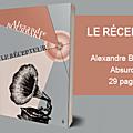 Le récepteur – Alexandre Bourbaki