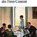<b>Giorgio</b> <b>BASSANI</b>, Le jardin des Finzi-Contini