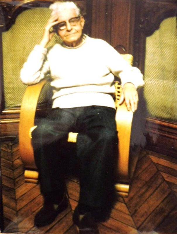 L midol âgé fauteuil couleurs