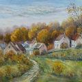 Un village en automne