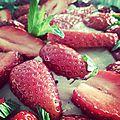 Tarte aux fraises du printemps !