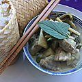 Exceptionnel curry vert thaï au porc - meilleur qu'au resto !!!