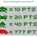 <b>Flash</b> <b>mob</b> space invaders