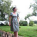 Ma robe danielle ,style empire