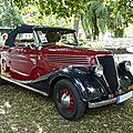 RENAULT Primaquatre roadster 1938 baden Baden (1)