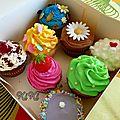 Dégustation de cupcakes pour un mariage