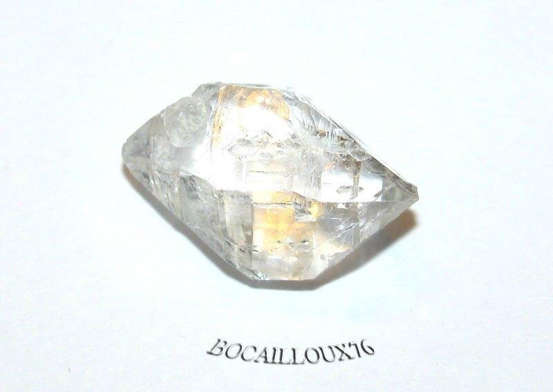 QUARTZ Diamant d'Herkimer 4 Naturel