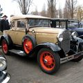 Ford model A roadster 01