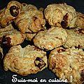 Cookies chèvre & figues