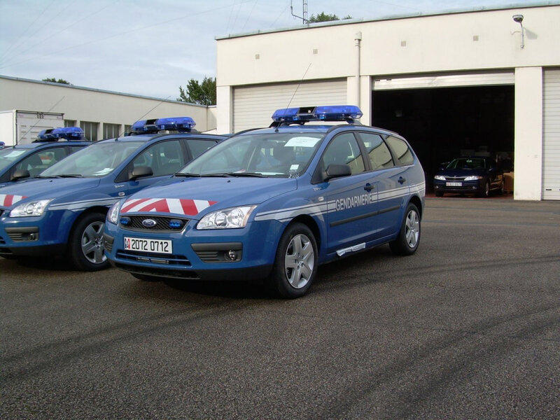Gendarmerie Ford Focus break
