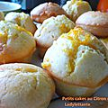 Petits cakes au citron et à l'orange
