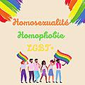Lecture thématiQue : <b>hOmOsexualité</b> / hOmOphObie / LGBT+