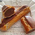 <b>Eclairs</b> chocolat