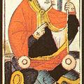 Textes et images autour de la carte v le pape