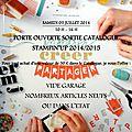 Porte ouverte nouveau catalogue annuel 2014/2015 stampin'up! - samedi 05 juillet 2014