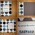 carnet santé Gaspard