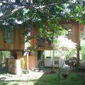 La maison de l'administration et des volontaires à La Delicia