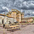 Premières <b>Journées</b> du <b>patrimoine</b> au château fort de l'Ebaupinay
