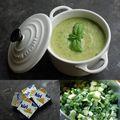 Soupe de Courgettes au <b>Kiri</b>