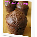 Muffins fondants au chocolat sans beurre (recette weight watchers)