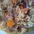 Gratin de blé aux carottes