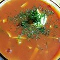 Zupa pomidorowa ou soupe aux tomates