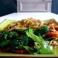 Nouilles sautées aux légumes au soja