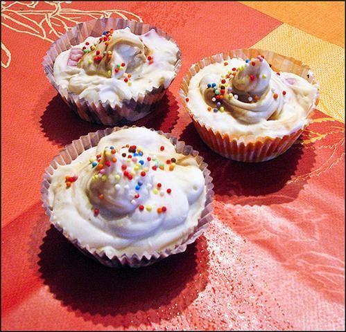Savons cupcakes