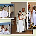 La robe de la communion de laura