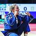 Charline van snick: la photo de la championne que vous ne verrez pas dans le journal