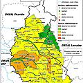 Info/meuse/sécheresse: état d'alerte du bassin saulx ornain et marne amont. etat normal pour le bassin aisne amont