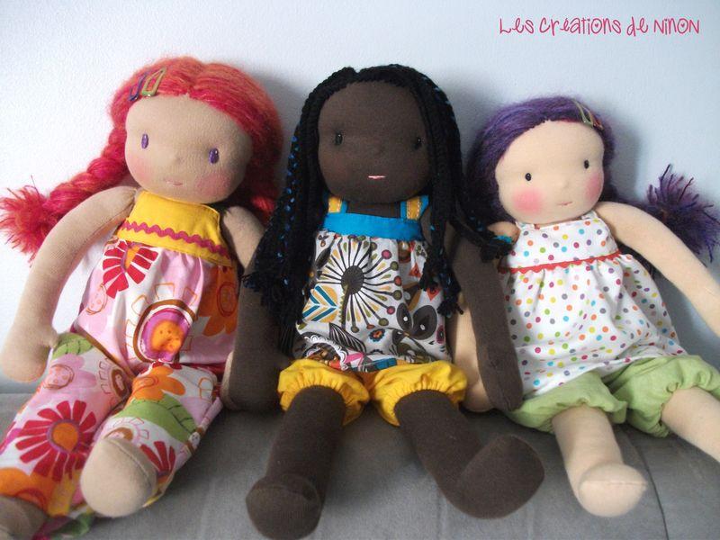 poupées waldorf sur commande