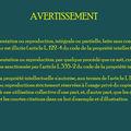 A , Avertissement