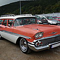 Chevrolet brookwood 4door station wagon 1958