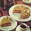 Gâteau cafe et chocolat