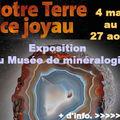 Notre terre, ce joyau - Exposition <b>MINES</b>-<b>ParisTech</b>