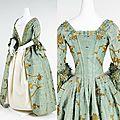 <b>Robe</b> <b>à</b> <b>l</b>'<b>Anglaise</b>, British, ca. 1770-1775