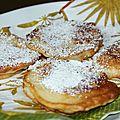 Petites crêpes aux pommes !!!placki z jabłkami