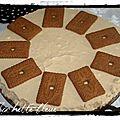 Gâteau de noël aux spéculos