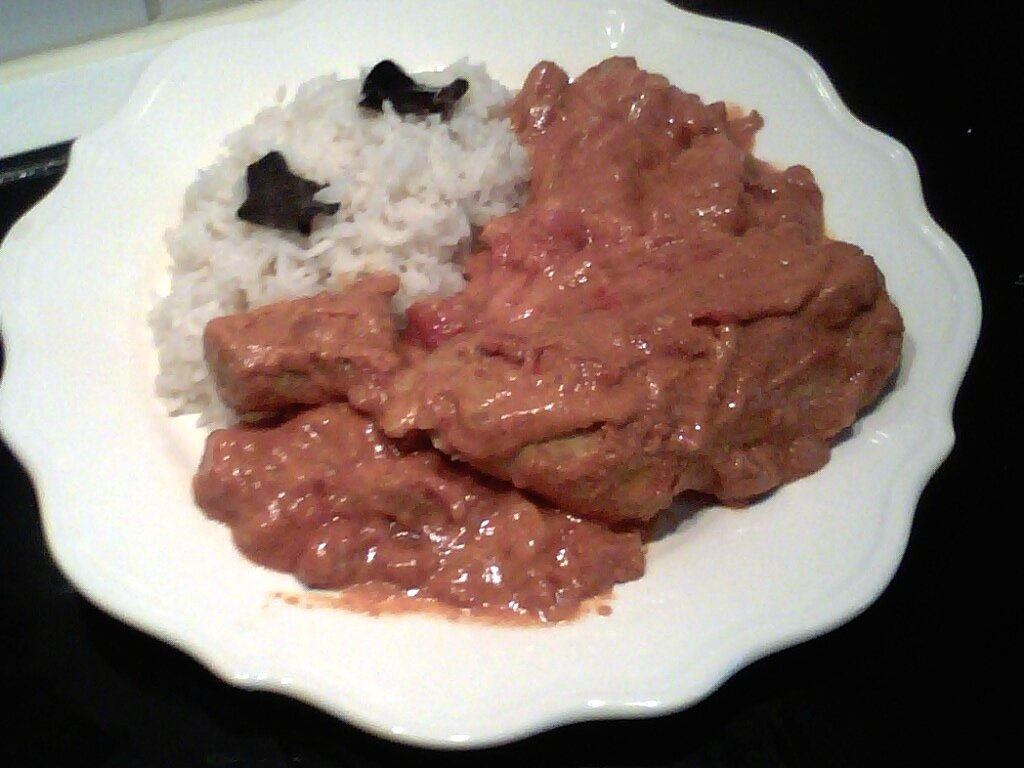 CURRY POULET TOMATE
