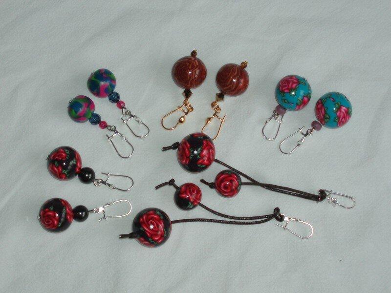 selection earrings
