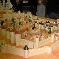 Carcassonne en alumettes