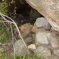 Profonde Grotte, restes de murs !